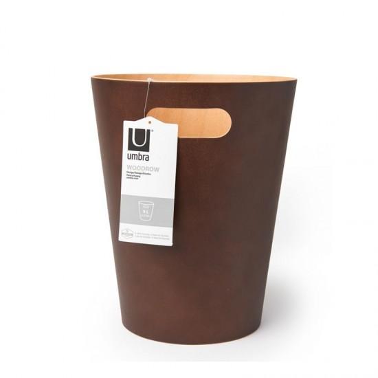 Дървен кош WOODROW, кафяв, UMBRA Канада