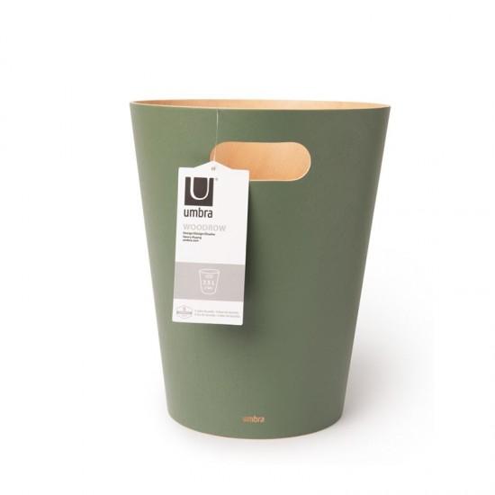 Дървен кош WOODROW, зелен, UMBRA Канада