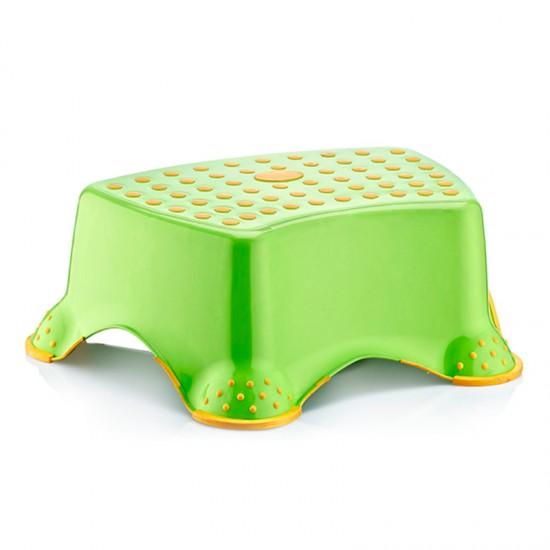 Детско столче за баня в жълто и зелено