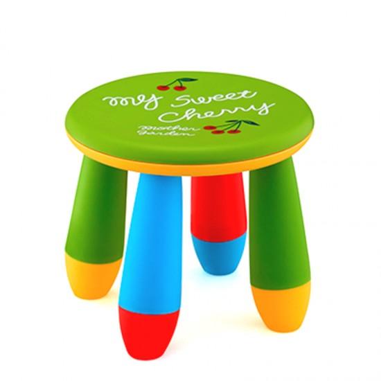 Детско столче КРЪГ, зелено
