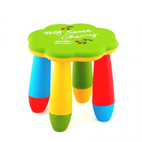 Детско столче ЦВЕТЕ, зелено