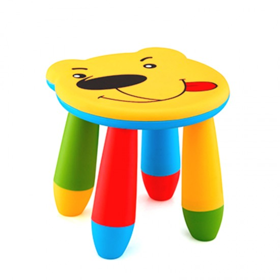 Детско столче МЕЧЕ, жълто