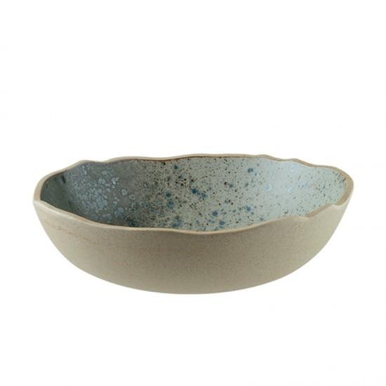 Дълбока порцеланова чиния GAIA, 23 см, BONNA Турция