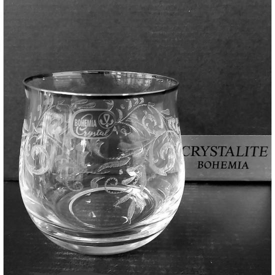 Гравирани чаши за уиски Angela 290 мл, CRYSTALEX BOHEMIA, Чехия