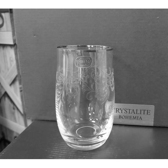 Гравирани чаши за вода Angela 380 мл, CRYSTALEX BOHEMIA, Чехия