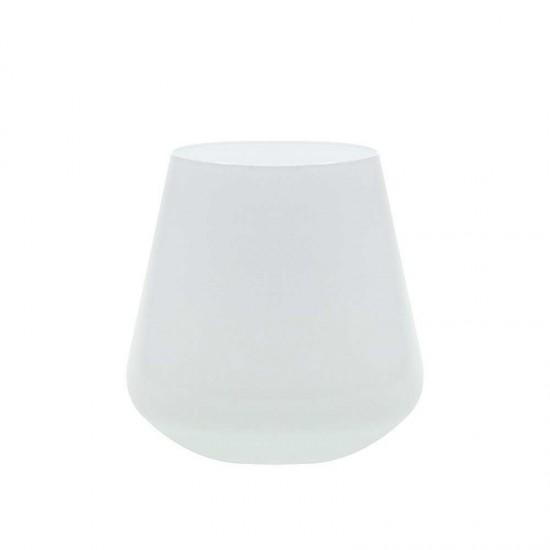 Бели чаши за уиски SANDRA, 290 мл., 6 броя, BOHEMIA