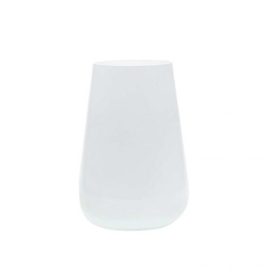 Бели чаши за вода SANDRA, 380 мл., 6 броя, BOHEMIA