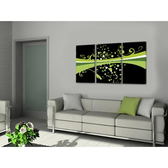 """Картина пано """"Зеленият път"""", 120 * 70 см"""