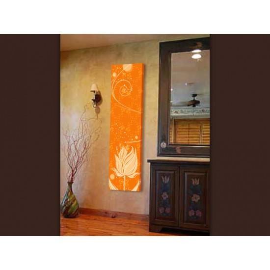 """Картина пано """"Лале в оранжево"""", 30 * 150 см"""