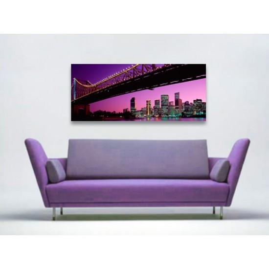 """Картина пано """"Манхатън"""", 120 * 50 см"""