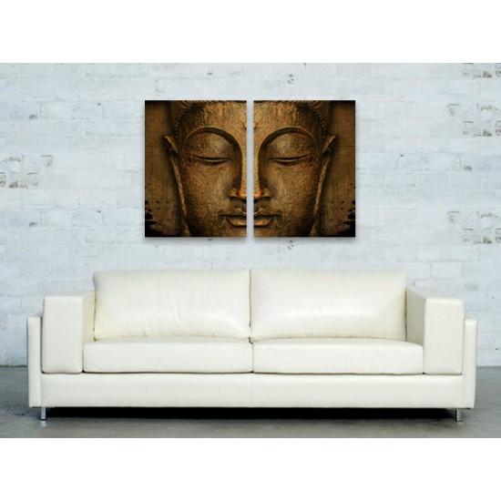 """Картина пано """"Буда"""", 2 бр. 40 * 60 см"""