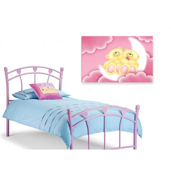 "Детска картина пано ""Спящи мечета"", 80 * 50 см"