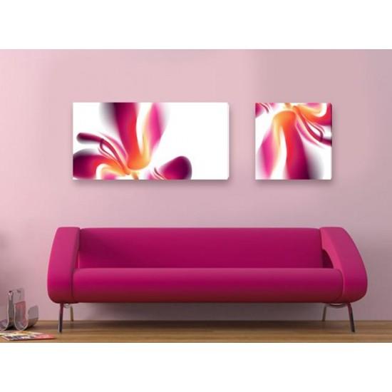 """Картина пано """"Цветно"""", 130 * 40 см"""