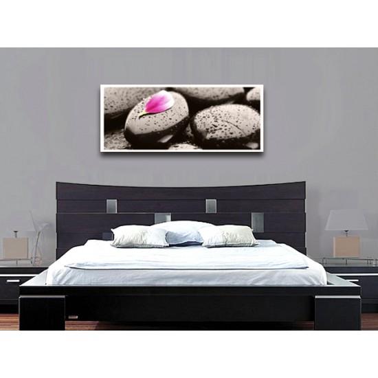 """Картина пано """"Речни камъни"""", 120 * 50 см"""