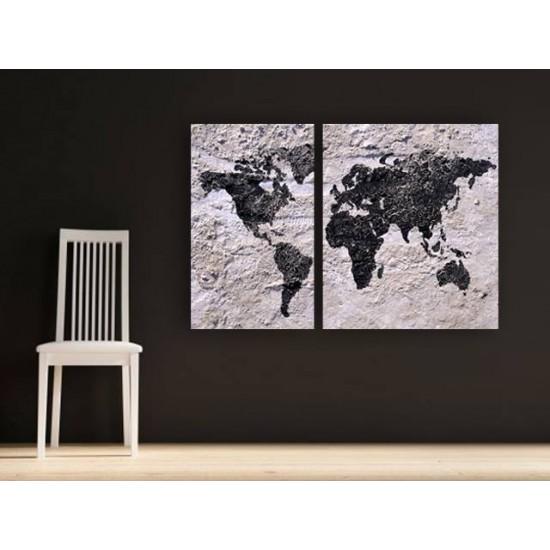 """Картина пано """"Земята"""", 110 * 70 см"""