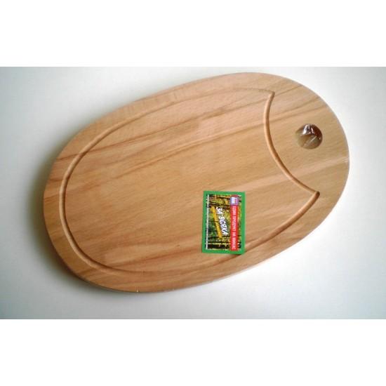 Дъска за рязане елипса 28 * 18 см
