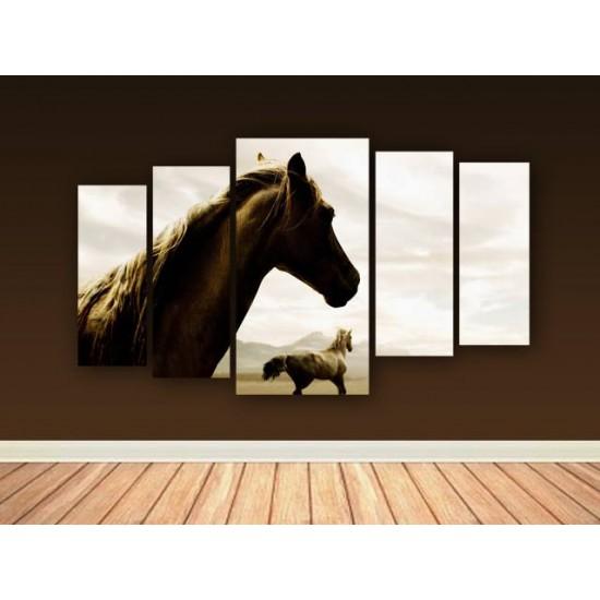 """Картина пано """"Коне"""", 110 * 60 см"""