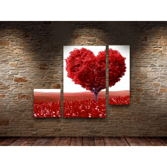 """Картина пано """"Всичко е любов"""", 110 * 80 см"""