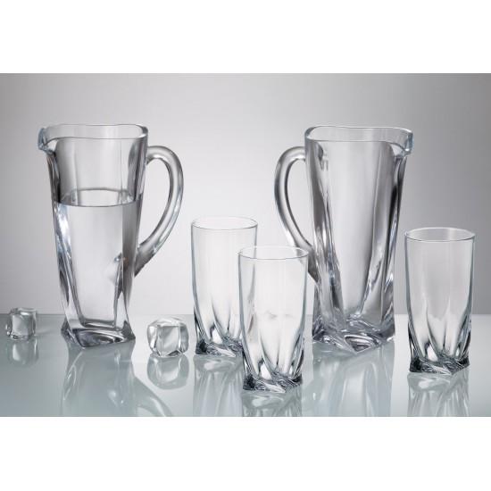 Комплект чаши и кана за вода Куадро, Crystalite Bohemia