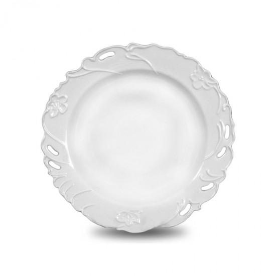 Комплект десертни чинии порцелан Барок, 6 бр.