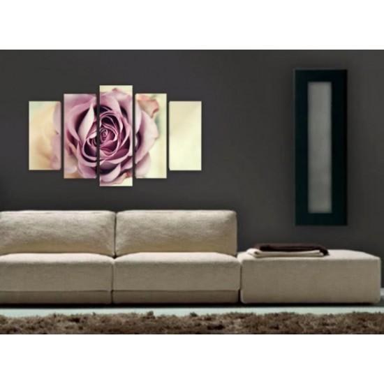 """Картина пано """"Разцъфнала роза"""", 100*60 см"""