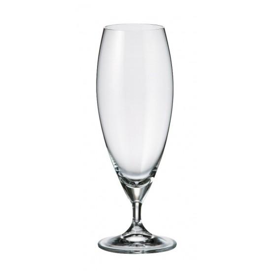 Комплект от 6 чаши за бира Сесилия, 380 мл, Crystalite Bohemia