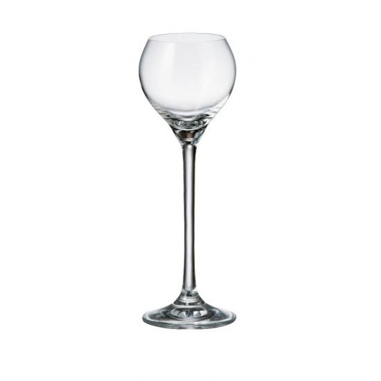 Комплект от 6 чаши за ракия Сесилия, 80 мл, Crystalite Bohemia