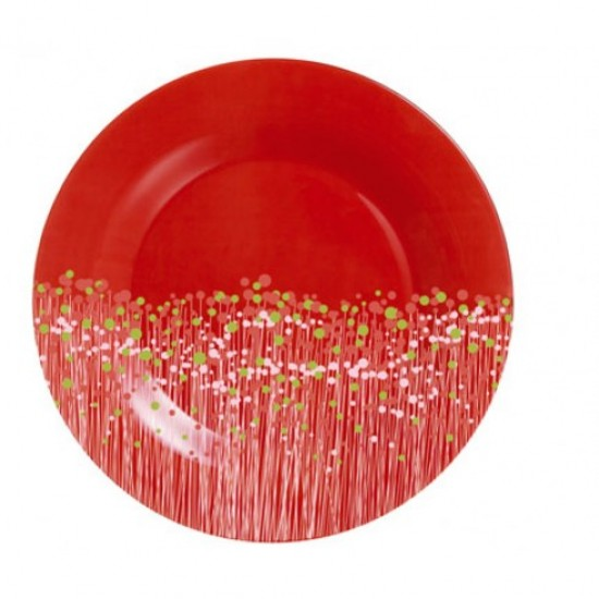 Десертни чинии Flowerfield Red, 6 бр., 19 см