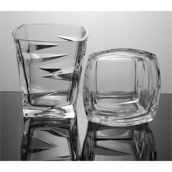 Кристални чаши за уиски ZIG ZAG, Crystal Bohemia