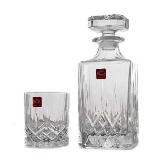 Комплект за уиски Opera 7 части, RCR Cristalleria Italiana