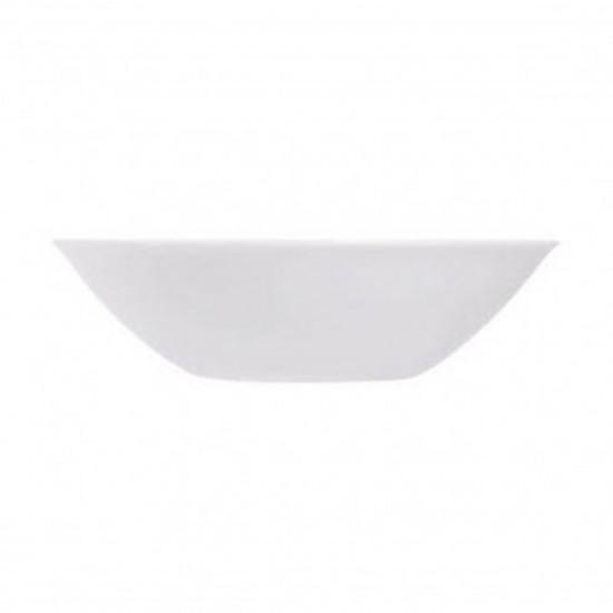 Комплект от 6 купички за салата Luminarc Sweet Line, бяло