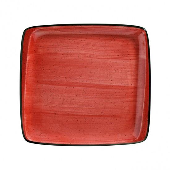Правоъгълно порцеланово плато PASSION, 32 х 30 см, Bonna Турция