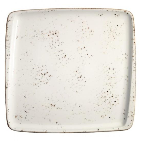 Правоъгълна порцеланова чиния GRAIN, 15 х 14 cм, BONNA Турция