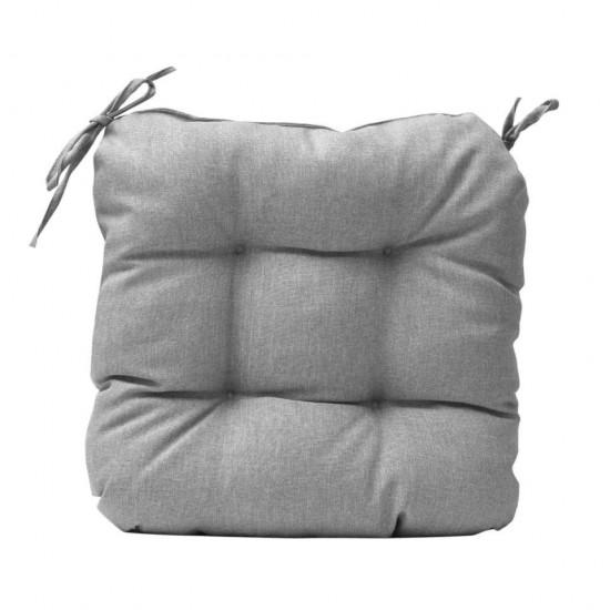 Възглавничка за стол Тринити 45*45*4 см, сива, Панагюрище 1965