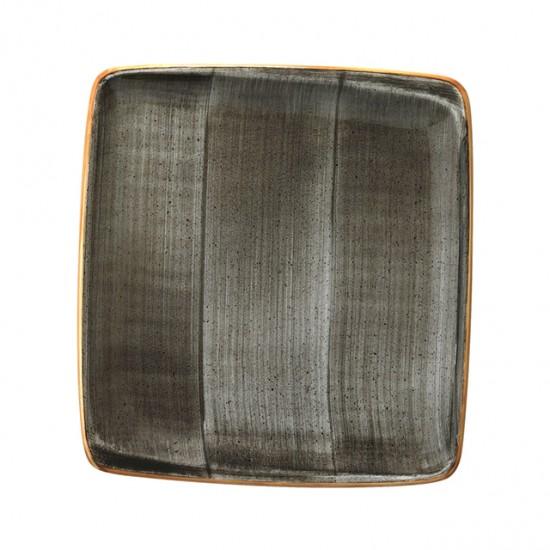 Правоъгълна порцеланова чиния SPACE, 27 х 25 см, BONNA Турция