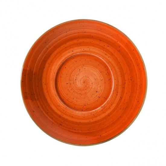 Подложна порцеланова чиния TERRACOTA, 17 см, BONNA Турция