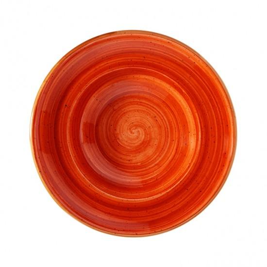 Дълбока порцеланова чиния TERRACOTA, 27 см, BONNA Турция