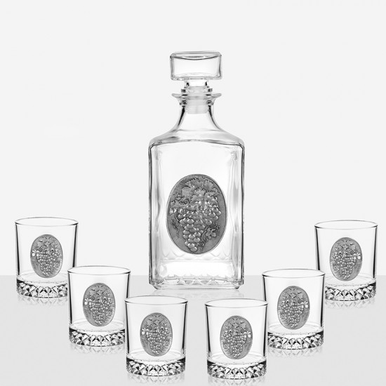 Комплект за уиски Грозд, Artina Австрия