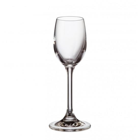 Комплект 6 бр. чаши за ракия, Crystalite Bohemia