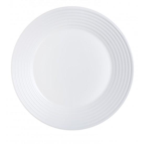 Чинии Luminarc Harena порционни, бели, 6 бр. 25 см