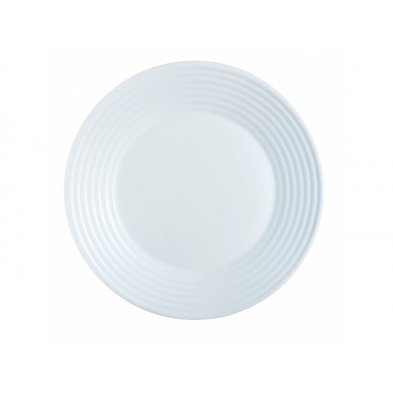 Чинии Luminarc Harena дълбоки, бели, 6 бр. 23 см