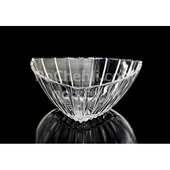 Кристална купа триъгълна 26 см