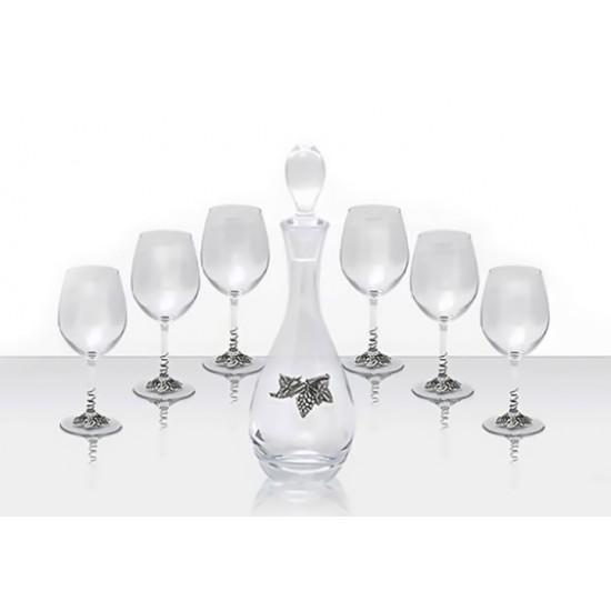 Гарафа с 6 чаши Грозд, Freitas & Dores Португалия