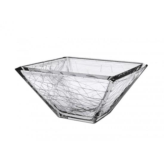 Квадратна стъклена купа DOLOMITI, 3,7 литра, VIDIVI Италия