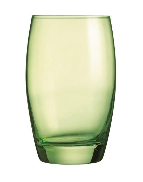 Светло зелени чаши за вода Arcoroc
