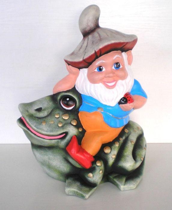 Джудже, възседнало жаба