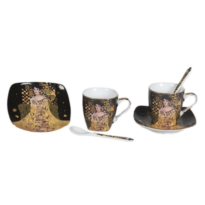 Сервиз за кафе за двама Портрет на Адел Бош