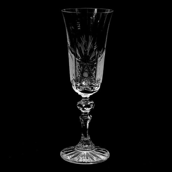 Кристални чаши за шампанско Зорница лукс