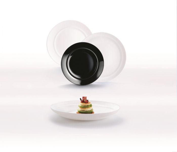 Сервиз за харнене Liminarc Alexie черно и бяло