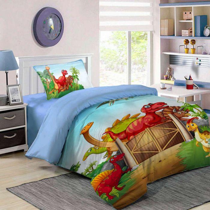 Детско спално бельо Дино
